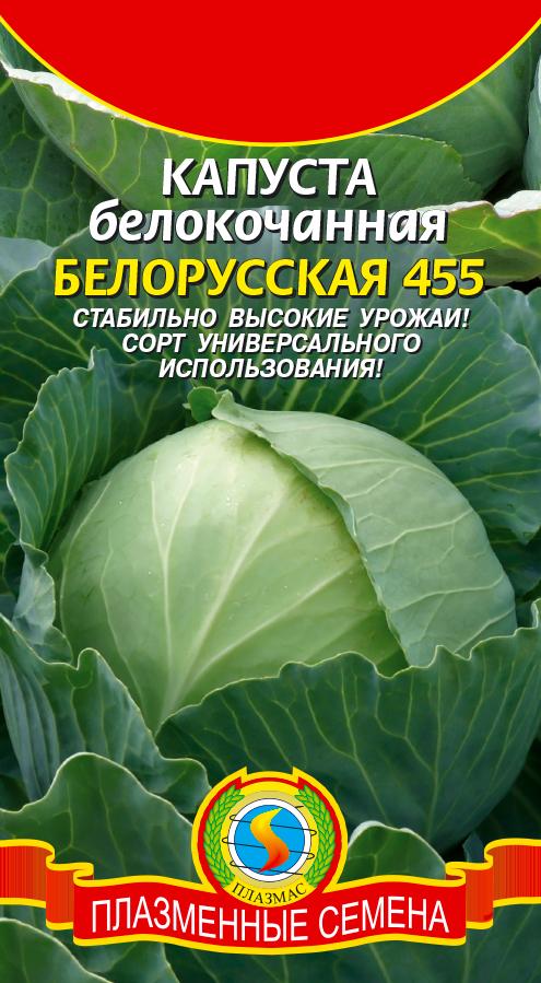 Капуста Белорусская 455